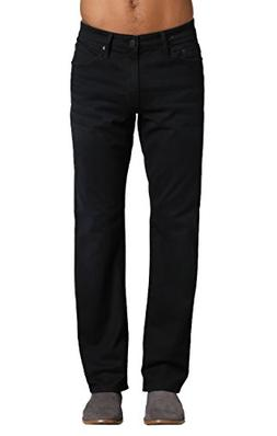 Mavi Men's Matt Classic Mid-Rise Relaxed Straight-Leg Jeans,