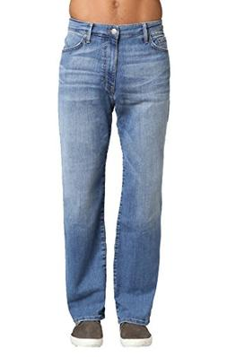 Mavi Men's Matt Relaxed Straight Leg Jeans, Mid Indigo Willi