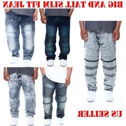 men big and tall denim jean slim