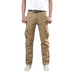 OWMEOT Men's Casual Jogging Harem Pants