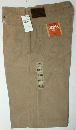 "MEN CORDUROY JEANS ""DOCKERS"" Size 34X34 5POCKET  STRAIGHT FI"