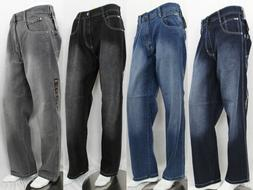 SOUTHPOLE MEN DENIM JEAN 4180 RELAXED FIT 5 COLOR