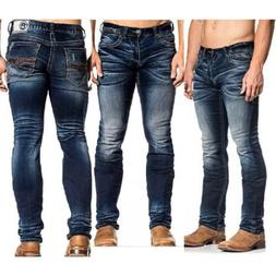 AMERICAN FIGHTER Men Denim Jeans LEGEND FREEDOM KANE Buckle