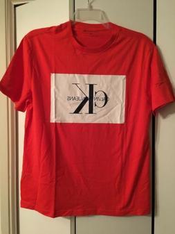 Calvin Klein Jeans Men Graphic Logo Crewneck T-shirt Size L