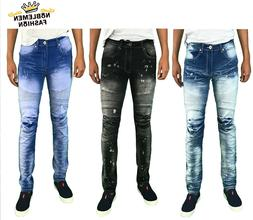 men jeans slim stretch fit slim fit