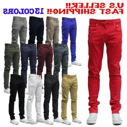 MEN Jeans STRETCH FIT SKINNY FIT Trousers Casual Pants SKINN