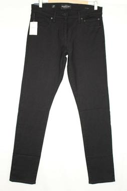 Lucky Brand Men's 110 Skinny Jeans Stretch Black Rinse 7MD10
