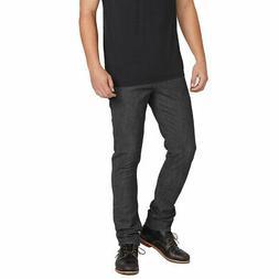 Volcom Men's 2x4 Skinny Fit Denim Jeans Dark Gray Clothing A