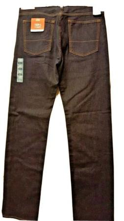 Dockers Men's 32x34  5-POCKET STRAIGHT FIT JEANS with Stretc