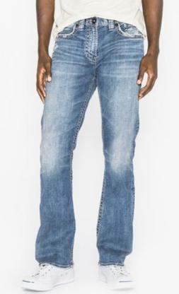 Silver Jeans Men's 38x32 Craig Easy Fit Bootcut Denim $109 L