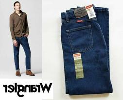 Wrangler® Men's 5-Star Regular Fit Jeans, Midnight Blue, Si