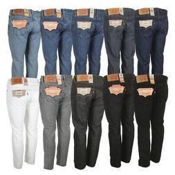 Levis Men's 501 Original Shrink to Fit Button Fly Jeans