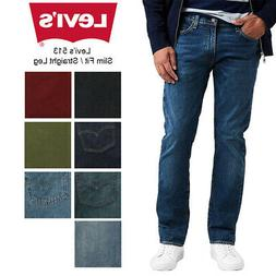 Levis Men's 513 Slim Fit Straight Jeans