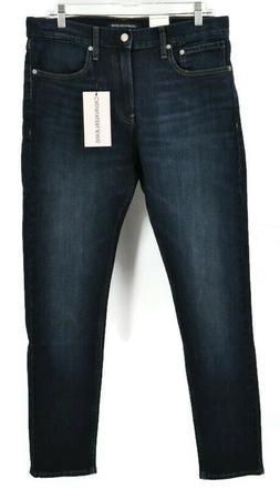 Calvin Klein Men's Austin Dark Blue Skinny Fit Jeans 33 x 32