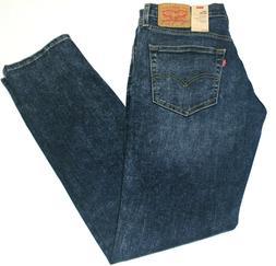 Men's Authentic Levi's 511 Skinny Slim Fit Faded Blue Stretc