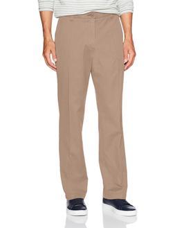 Wrangler Men's Authentics Comfort Flex Waist Khaki Pant, Des