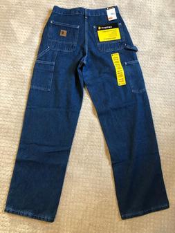 Carhartt Men's B13 Carpenter Original Dungaree Work Jeans Da