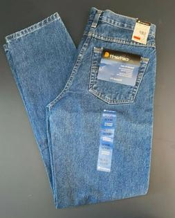 Carhartt Men's B17 Relaxed Fit Five Pocket Jeans Darkstone N