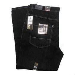 SOUTHPOLE MEN'S BIG AND TALL 9007-4180 BASIC DENIM BLACK SAN