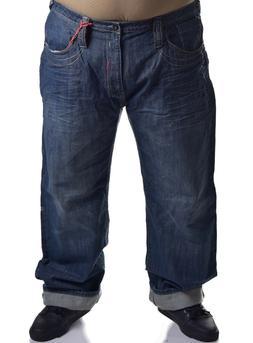 Akademiks Men's Big & Tall Classic True Fit Denim Jeans Choo