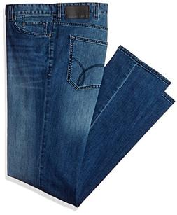 Calvin Klein Jeans Men's Big and Tall Relaxed Fit, Cove, 44x
