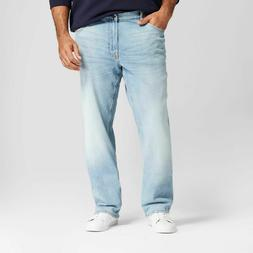 Men's Big & Tall Straight Fit Jeans with Coolmax - Goodfello