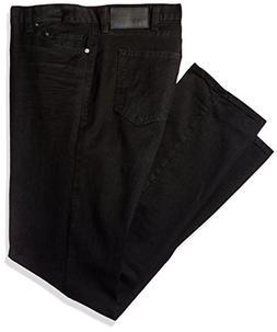 Calvin Klein Men's Straight, Worn In black Dye, 42W x 32L