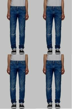 Men's Calvin Klein destroyed skinny jeans Filiforme model $8
