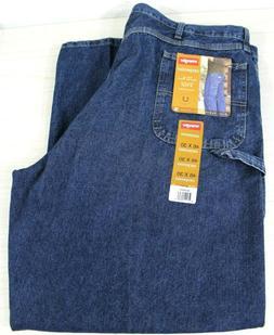 Men's Wrangler Carpenter Jeans 46x30 New 94LSWDV
