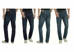 IZOD Men's Comfort Stretch Jeans Straight Fit Dark Blue & Me