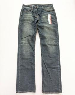 Izod Men's Comfort Stretch relaxed fit Denim Jeans 34x38