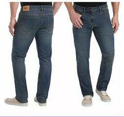 IZOD Men's Comfort Stretch Straight Fit Blue Jeans Size 40x2