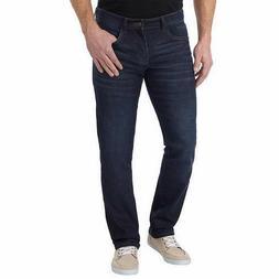 IZOD Men's Comfort Stretch Straight Leg Jean Dark Harlow