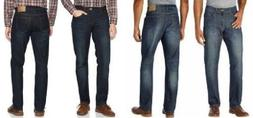 IZOD Men's Comfort Stretch Straight leg Jeans