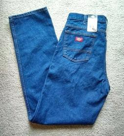 Men's Dickies CR393RNB Relaxed Fit Occupational Denim Jeans