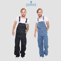 Men's Denim Dungarees Jeans Bib and Brace Overall Pro Heavy