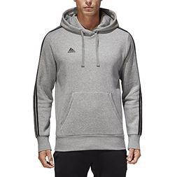 adidas Men's Essentials 3-Stripe Pullover Hoodie, Medium Gre