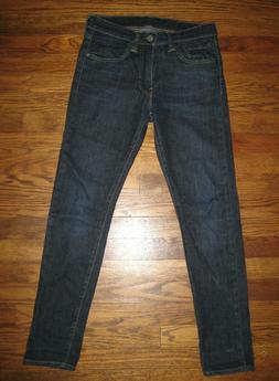 Men's Extreme Skinny Levi's 519 Red Tab Jeans Size 29x30 *Ne