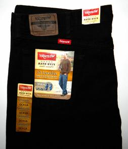 Wrangler ~ Men's ~ Five Star~Relaxed Fit ~ Black Jeans~ 42x3
