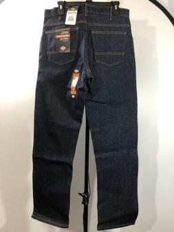 Dickies Men's Regular Fit 5-Pocket Jean, 40x34, Indigo Blue