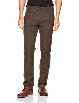 Dockers Men's Jean Cut Slim Tapered Pants, Smokey Hazelnut ,