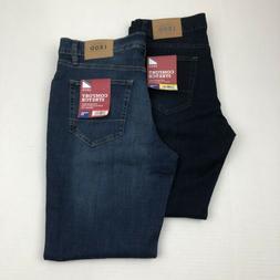IZOD Men's Jeans Comfort Stretch Straight Fit Jeans Medium &