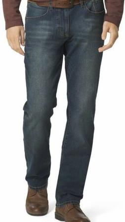 IZOD Men's Jeans Comfort Stretch Straight Fit Pants Blue Siz