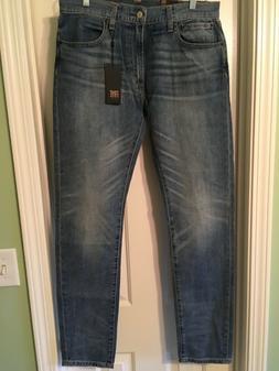 FRYE Men's Jeans, NEW, Waist 32 X 33 Inseam, Rise 10, Retail