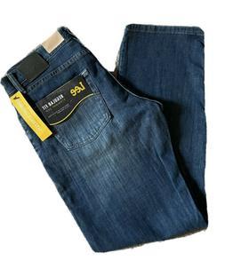LEE Men's Jeans Regular Fit Straight Leg Comfort Stretch Den