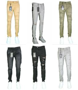 Men's Jordan Craig Jeans Ripped Biker Jeans Size 32X32 40X32