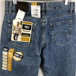 Lee Men's Jeans Size 31x30 Regular Fit Straight leg Medium W