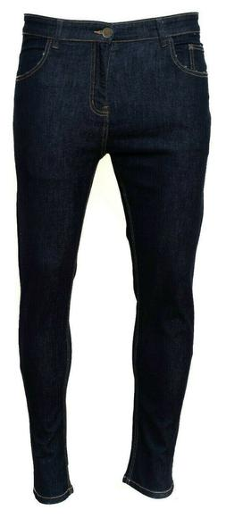 Men's Classic Skinny JEAN Stretch Trouser Pants Denim Moto B