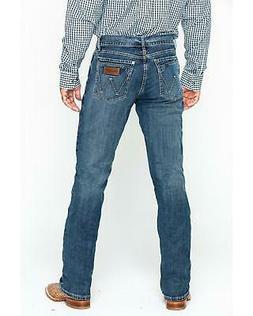 Wrangler Retro Men's Layton Slim Fit Bootcut Jeans - WLT77LY