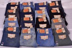 Men's Levi's 501 Original Straight Leg Button Fly Jeans - Ch